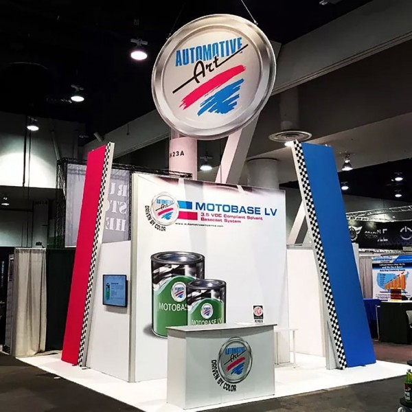 Automotive Art At The Annual SEMA Show in Las Vegas, Nevada